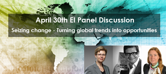 Panel Discussion: Seizing change – Turning global trends into opportunities.
