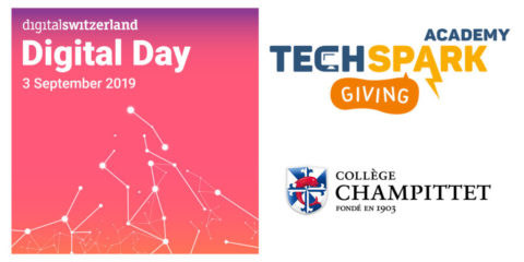 TechSpark Academy Digital Day 2019 – Free Discovery Workshops 07-08.09